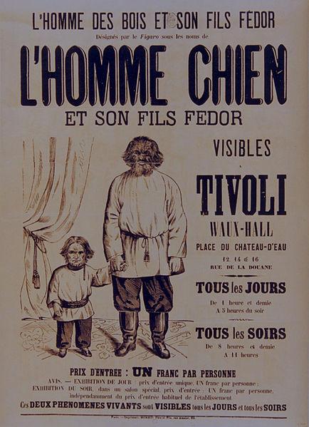 Tivoli_-_L'Homme_chien_et_son_fils_Fédor