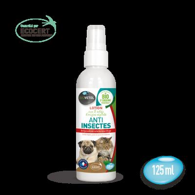 lotion anti insecte 125ml biovetol