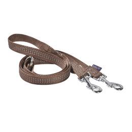 laisse 3 positions safe bobby chien marron