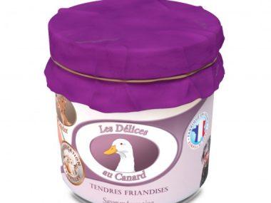 friandises naturelles pour chien - canard-100g-les-délices-de-médor-friandises-chien-naturelles
