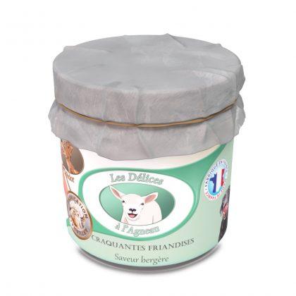 friandises naturelles pour chien agneau croquante