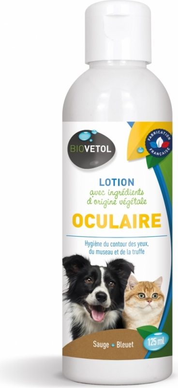 LOTION OCULAIRE BIOVETOL CHIEN