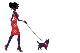 clipart promenade pour chien Landes