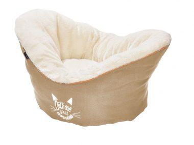nid pour chat companion beige