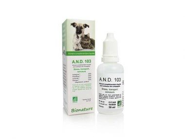 anti stress animaux naturel A.N.D.-103-CHIEN ANXIETE