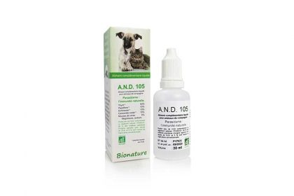 antiparasitaire chien A.N.D.-105 bionature