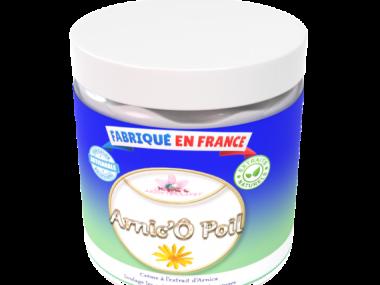 arnic-o-poil-crème apaisante pour chien et chat 250ml